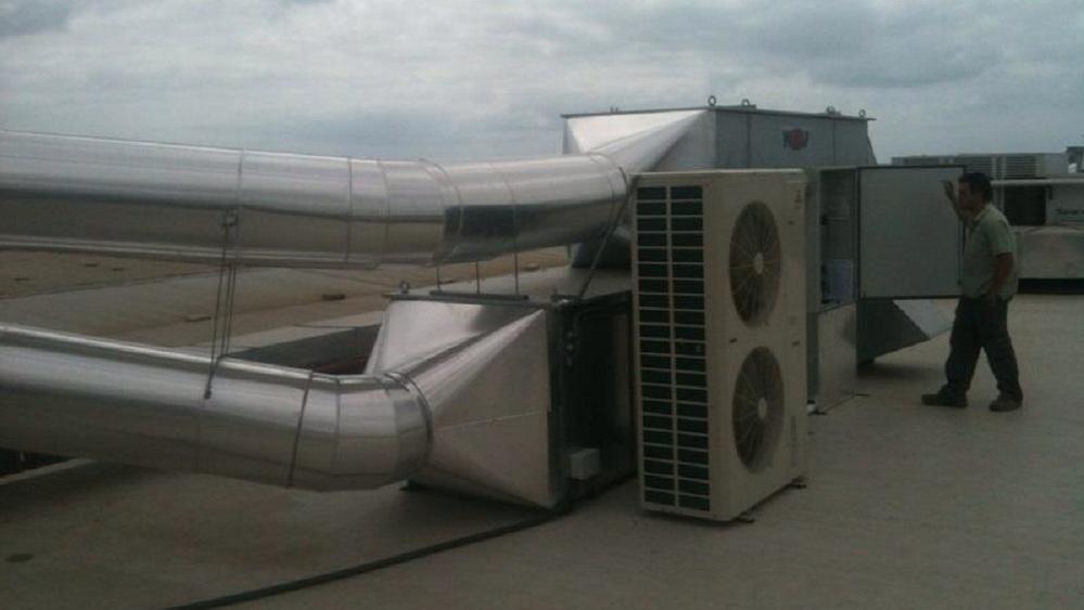 Instalaciones de climatización en Airbus