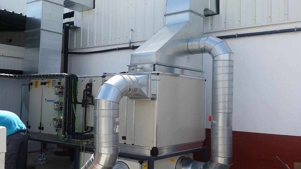 Instalación de climatización Alfocan